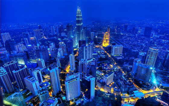 крупных, архитектуры, городов