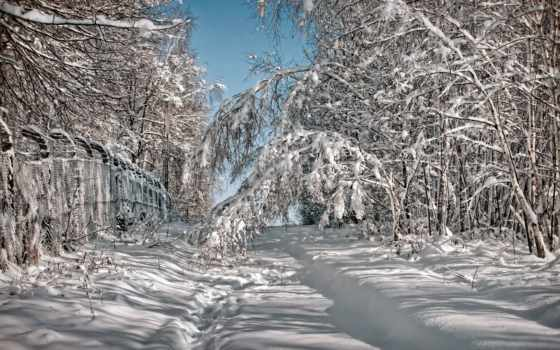 winter, пейзажи -, река
