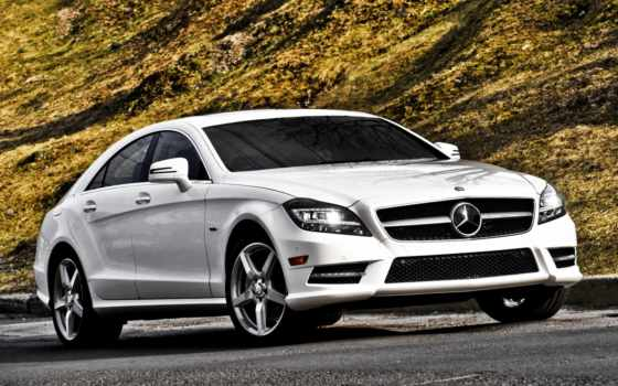 mercedes, benz, cls, amg, мерседес, фронтовой, class, white,