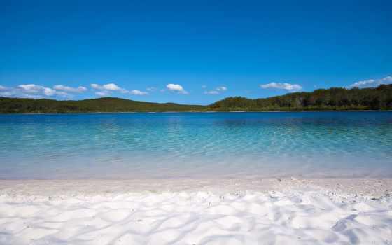 австралия, остров, galaxy, пляж, озеро, samsung, duvar, kağıtları, ipad, мини, trees,