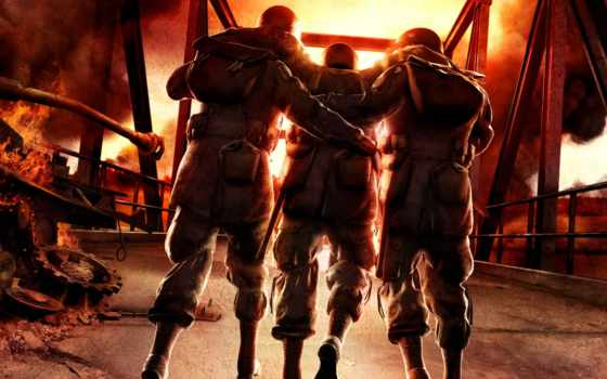 arms, brothers, intel, art, gearbox, black, monster, игры, war,