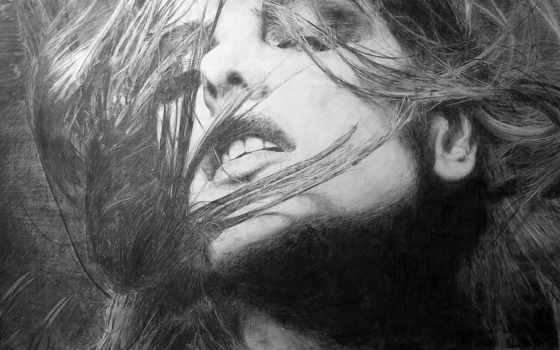 чёрно, белые, карандашом, эскизы, рисунки, белая, алессандра, яndex, ambrosio, модель,