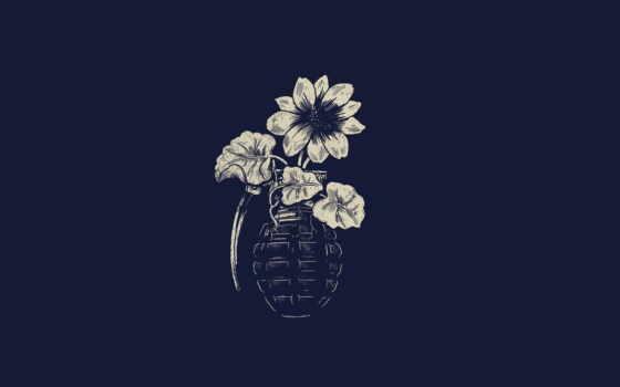 grenade, flower