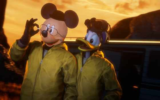 noopr, плохой, breaking, disney, art, fan, mickey,