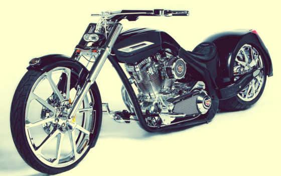 chopper, bike, мото, gif, black, harley, motorbike, тюнинг,