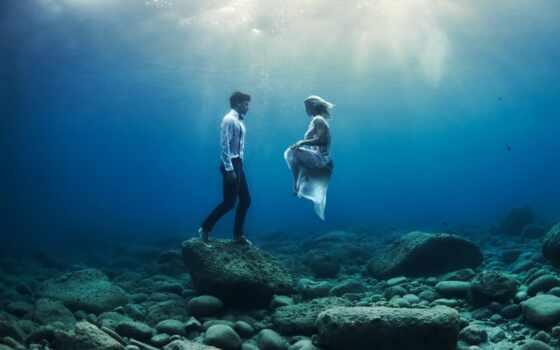 underwater, девушка, una, shoot, loprestus, davide