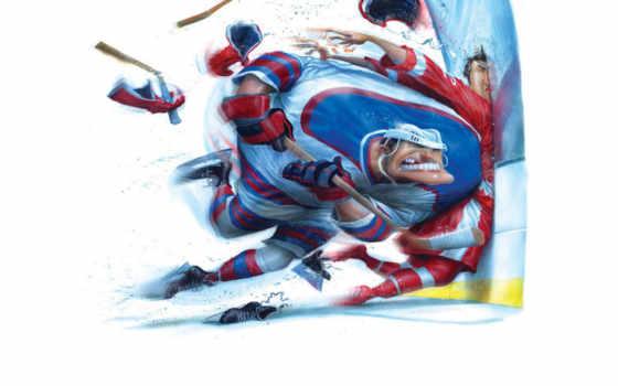 хоккеист, зверский, коньки
