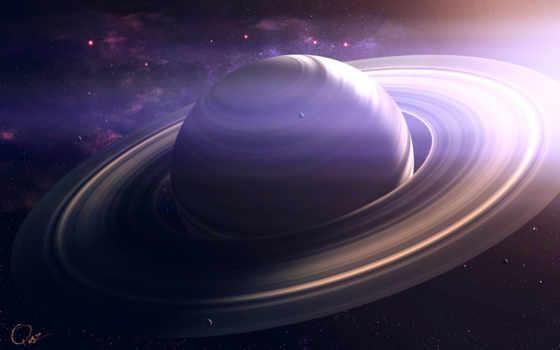 сатурн, космос, planet