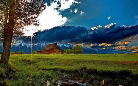 house, горах, уединения