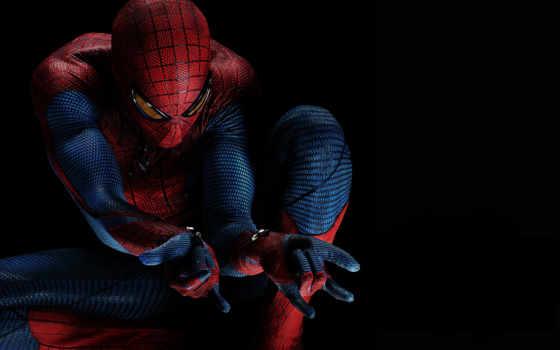 мужчина, паук, new