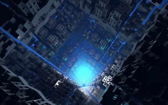 совершенно, techno, abyss, wpapers,