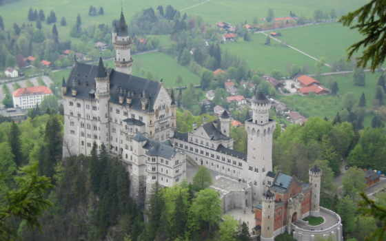 castle, нойшванштайн, нойшванштайн, бавария, замки, german,