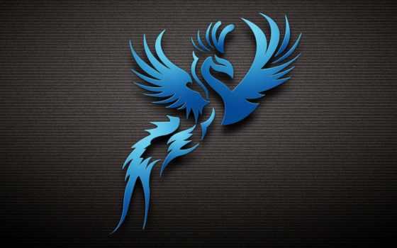 blue, dark, страница, птица, тег,