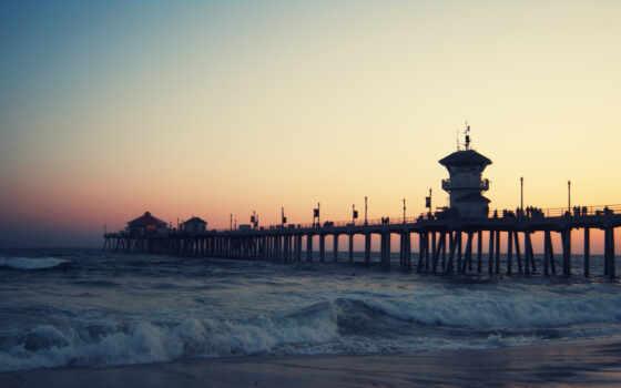 красивый, long, landscape, море, ocean, free, биг, shirokoformatnyi