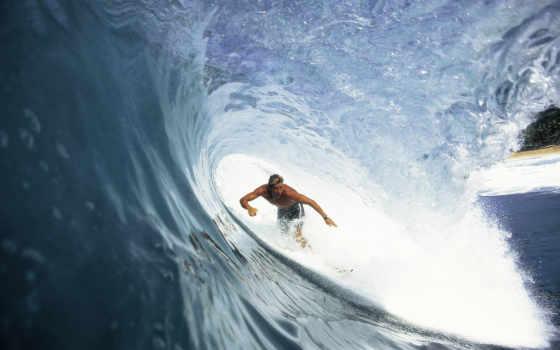 сёрфинг, волна, surfer