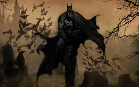 batman, маска, плащ