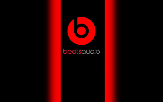 beats, audio, dre, dr, логотип, музыка, baetsaudio, red, black,