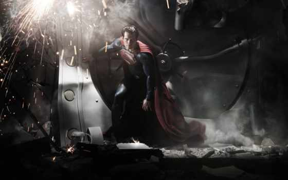 мужчина, стали, стальной, superman, фильма, кинотеатр, movie, рамочка,