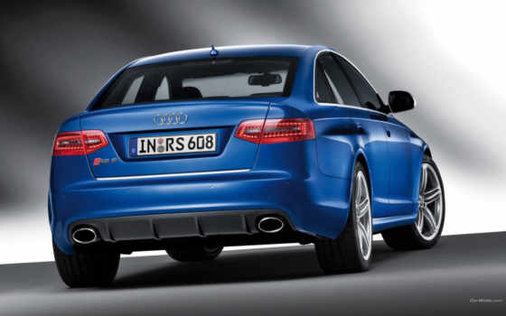,audi, car, sedan, rear, blue,