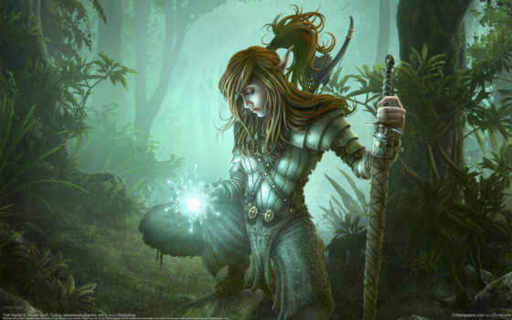 fantasy, warrior