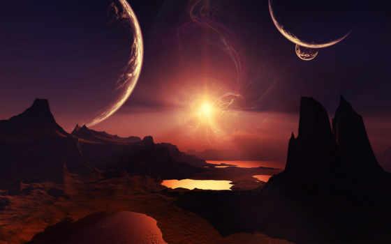 space, планеты Фон № 24518 разрешение 1680x1050