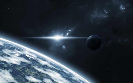 планета, звезды Фон № 24761 разрешение 1920x1080