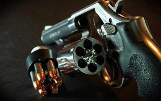 drum, revolver, патроны, огнестрельное, оружие,