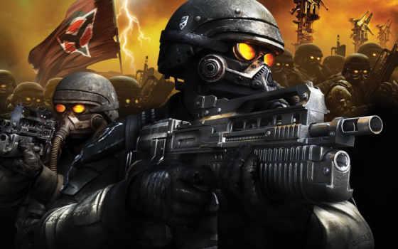 солдат, игры, video