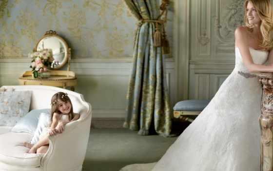 lindsay, ellingson, свадебный, платье, white, модель, невеста, праздник, улыбка,