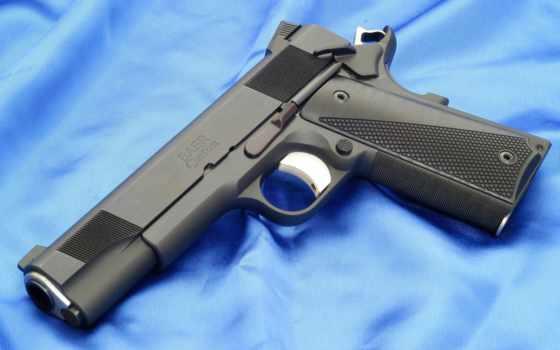 colt, пистолет, оружие, custom, baer, m1911, м1911
