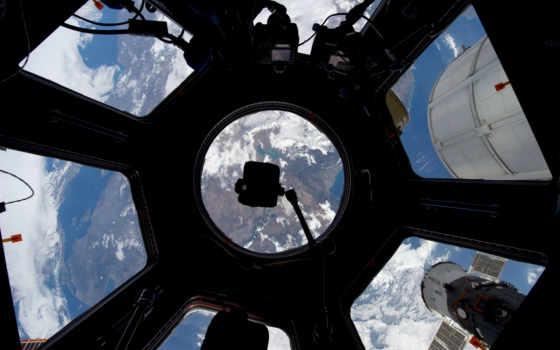 dome, mks, cosmos, окно, международной, станции, космической, является, частью, модуль,