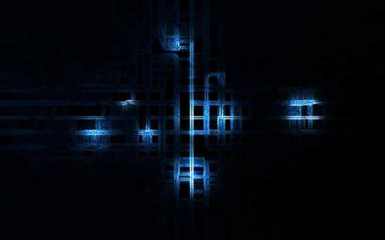 синий, линии Фон № 25372 разрешение 2560x1600