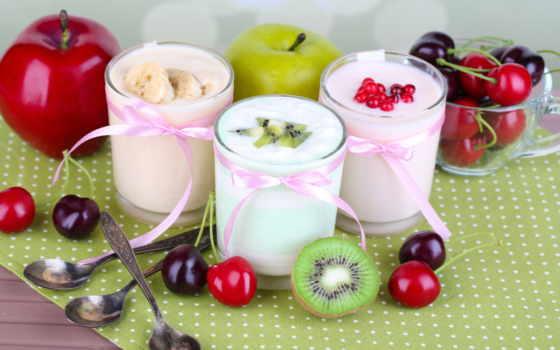 еда, фрукты, мороженое