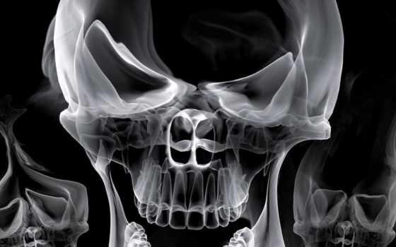 черепа, череп, аватары, аву, дым,