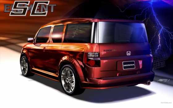 honda, элемент, ск, cars, prototype, custom,