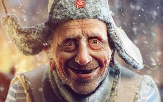 ushanka, шапка, ded, история, задолго, narrow, russian, she, иней, soldatskii