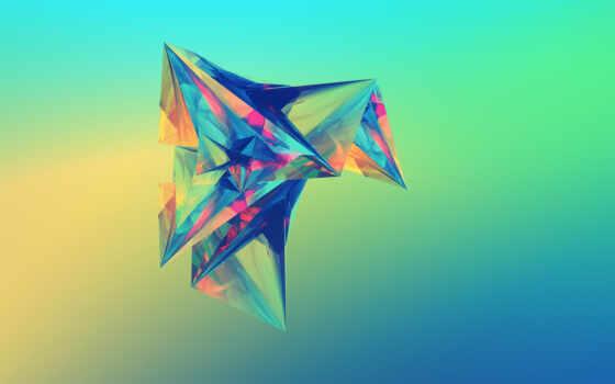 идея, abstracto, car, papel, абстракция, sports, abstract, полигон, fonwall, собрать, free
