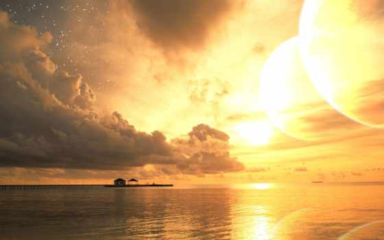 море, пляж Фон № 32333 разрешение 1920x1200