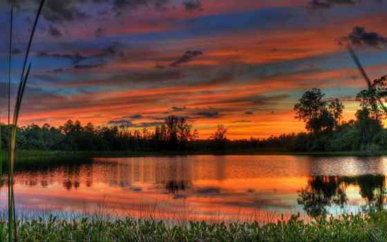пейзажи -, сказочные, закатов, солнца, коллекции, широкоформатных, фотографий, альбоме, природа,