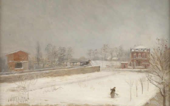 landscape, giuseppe, winter
