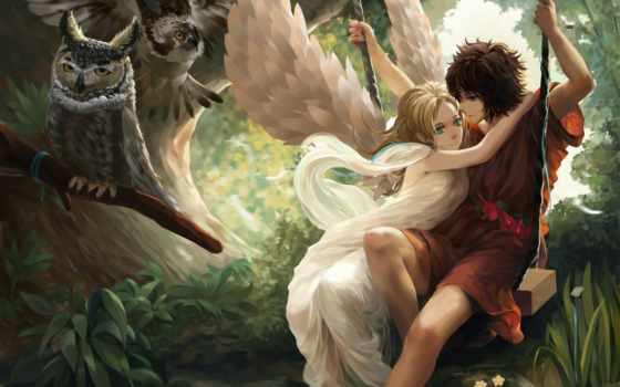 angel, девушка, крылья Фон № 91524 разрешение 1920x1200