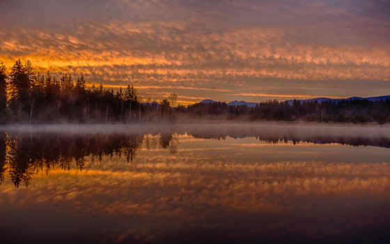 озеро, mist, desktop, ultimate, possible, pixels, resolution, served, категория, themes,