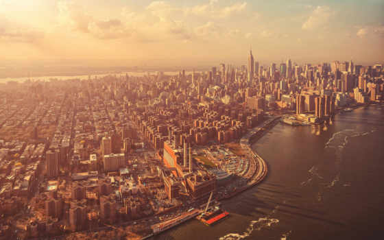 нью, york, new, manhattan, города, город, здания,