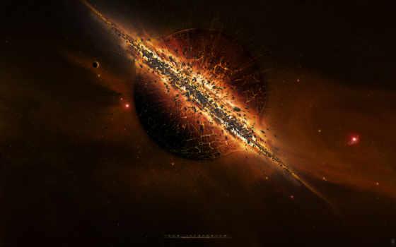 взрыв, космос