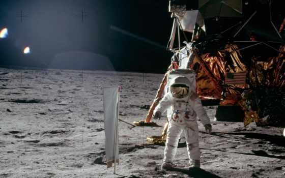 луна, астронавт