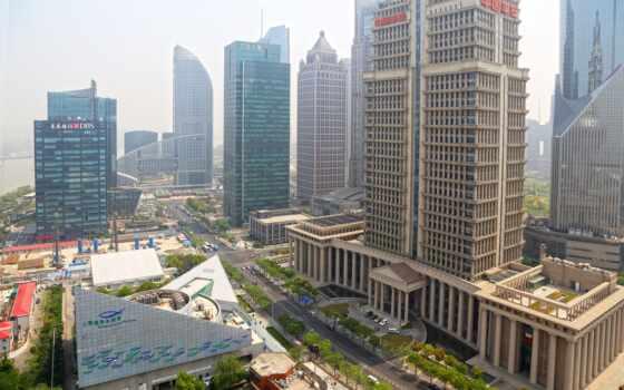 города, shanghai, china