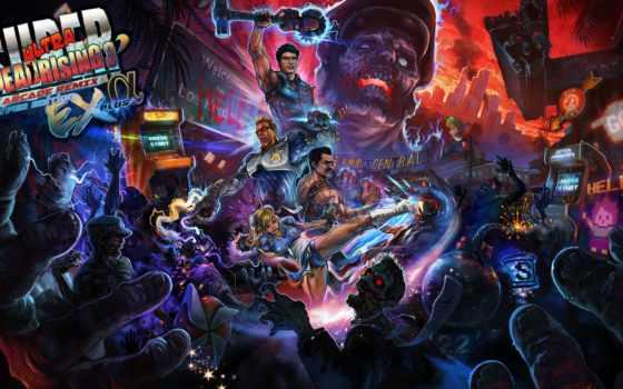 rising, dead, arcade, remix, супер, ultra, hyper, издание, июня,