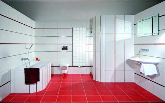 комнаты, design, ванная