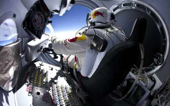 red, bull, stratos