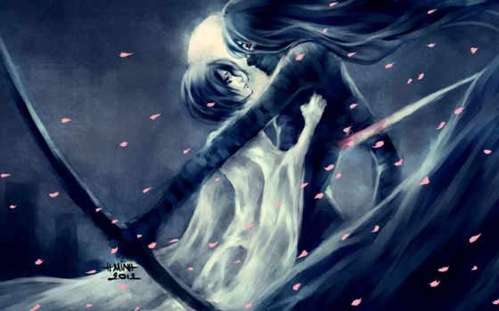anime, bleach, девушка